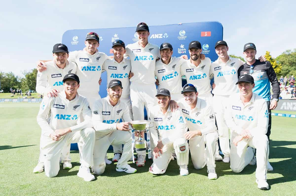 NZ vs PAK :New Zealand Bags no.1 spot for the first time in Test Cricket History