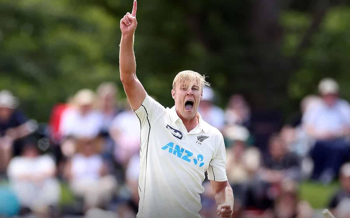 Kyle Jamieson's fifer helps New Zealand bundle out Pakistan for 297 runs