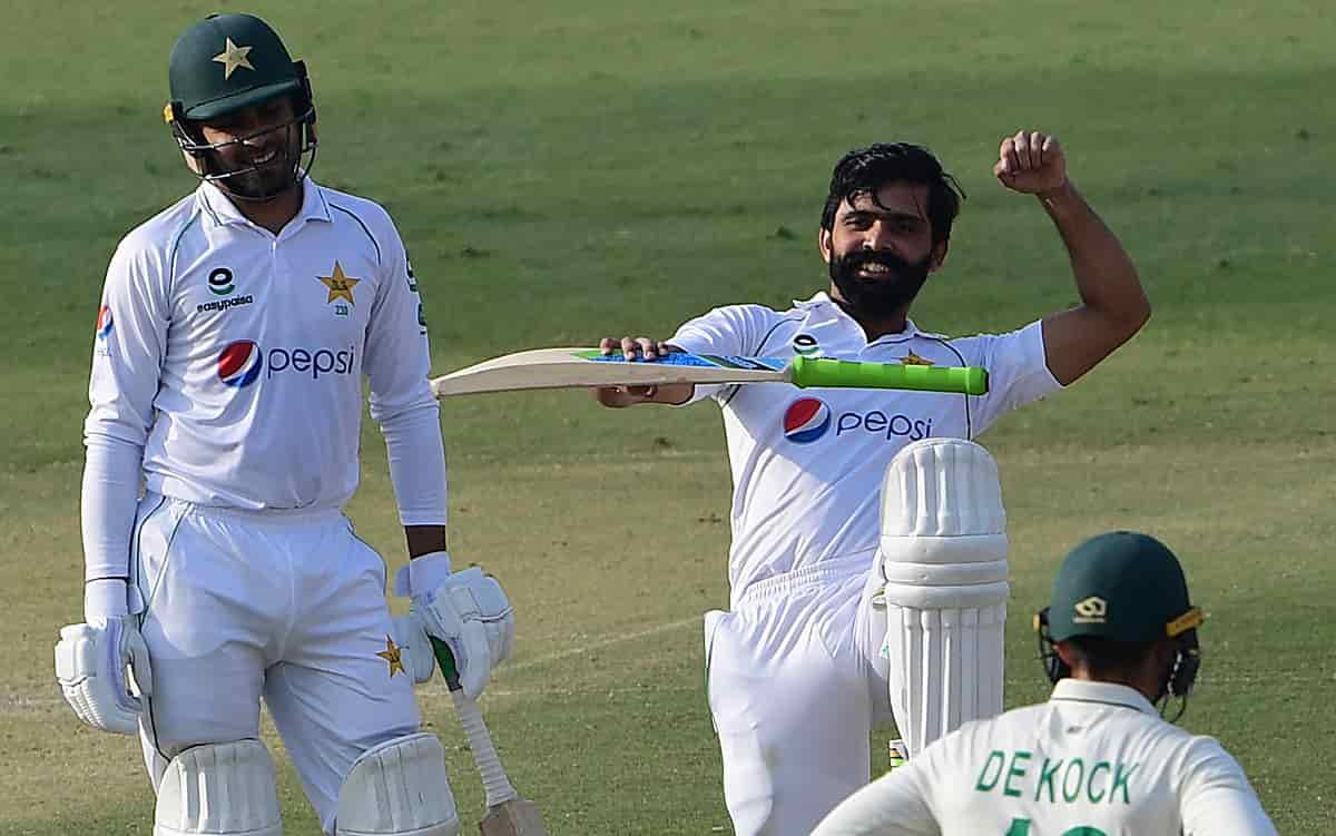 Cricket Image for PAK vs SA: फवाद आलम ने Karachi Test में शतक ठोककर रचा इतिहास,ऐसा करने वाले पहले पा