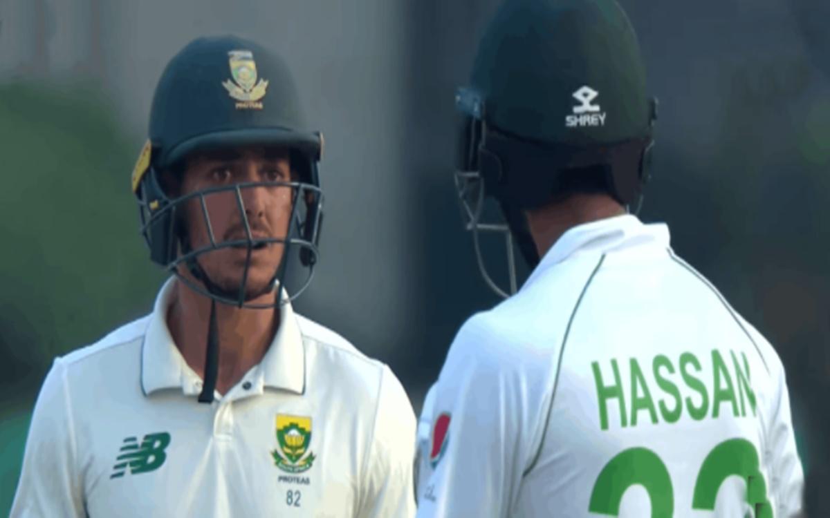 Cricket Image for  VIDEO Fight Between Quinton De Kock And Hasan Ali