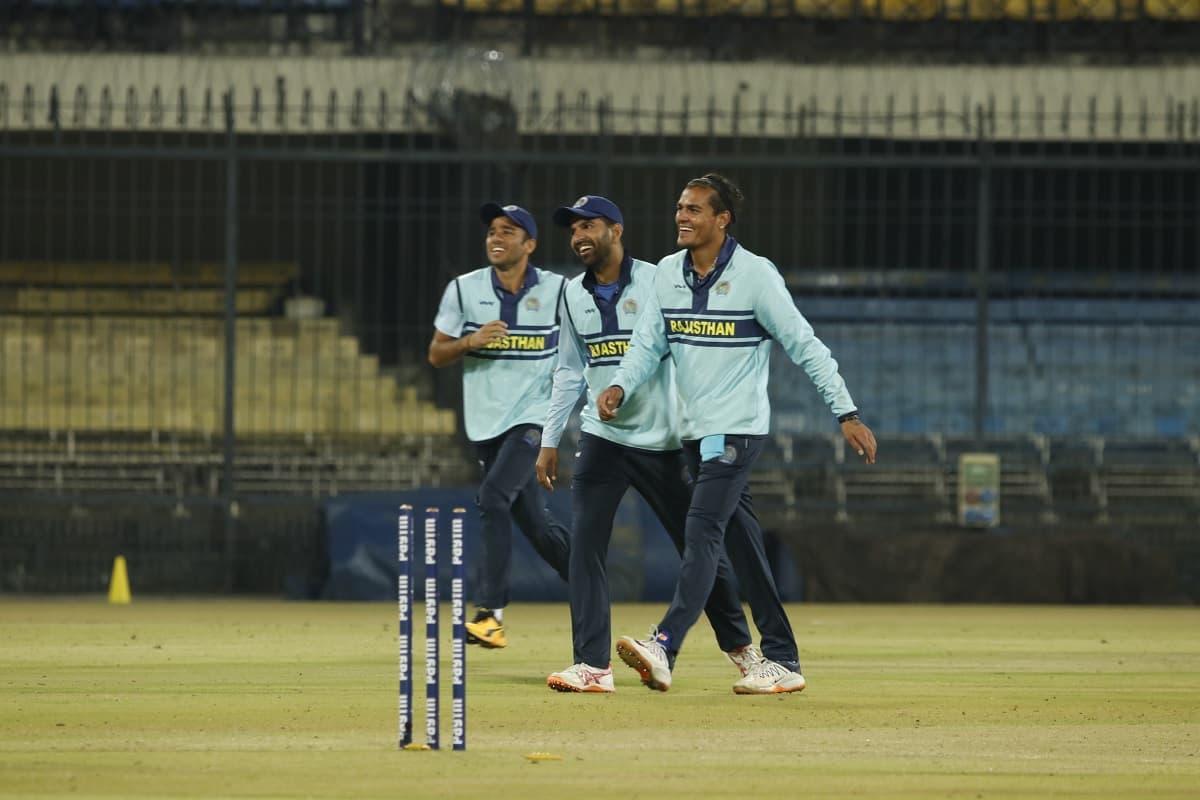 Cricket Image for SMAT: राहुल चाहर की हैट्रिक से राजस्थान ने मध्य प्रदेश को 10 रनों से हराया, अमित म