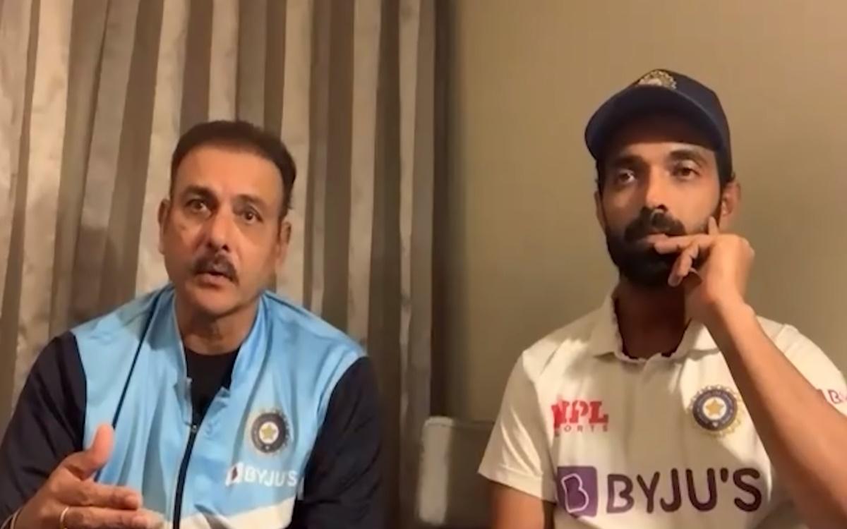 Ravi Shastri praises Virat Kohli more than Ajinkya Rahane