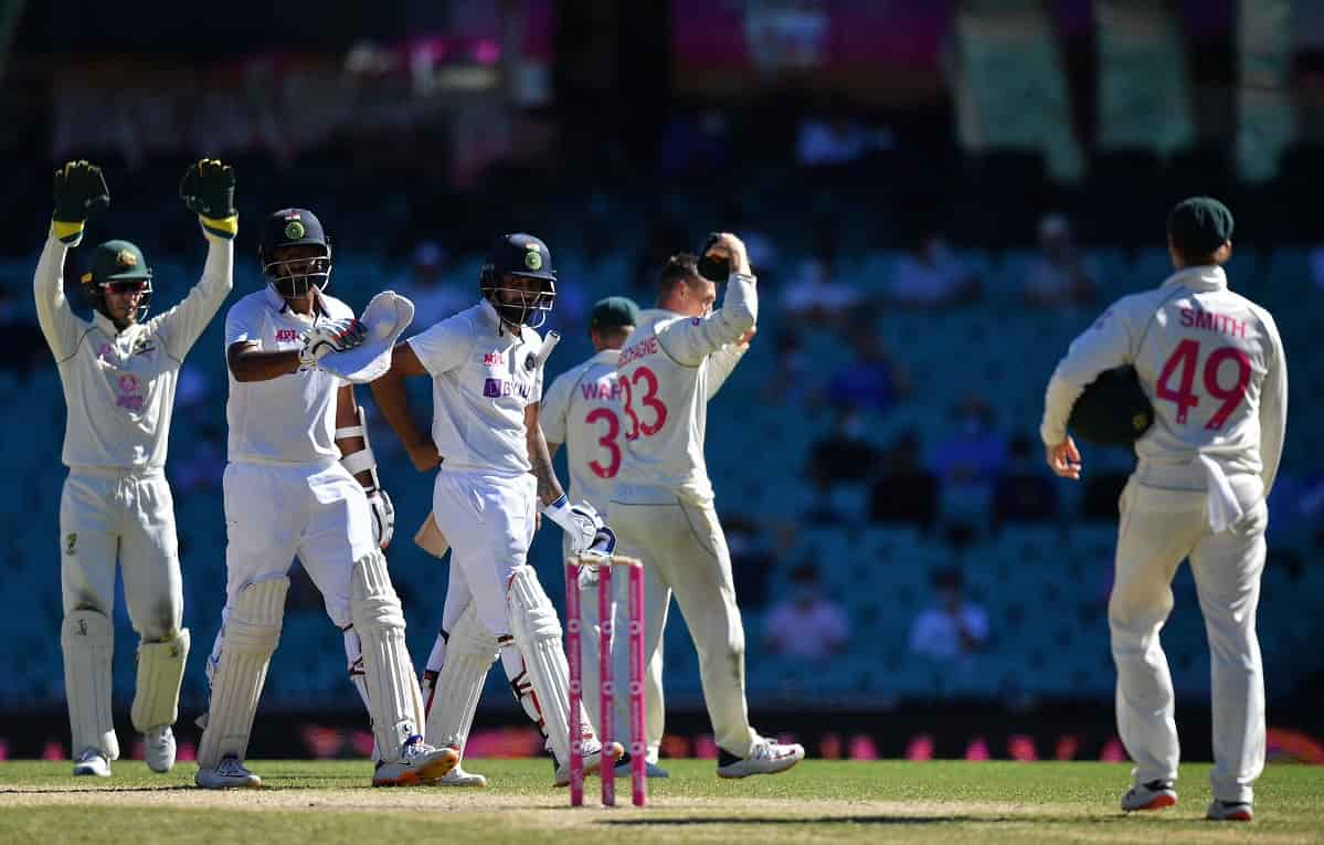 India Australia Sydney Test ends in a draw