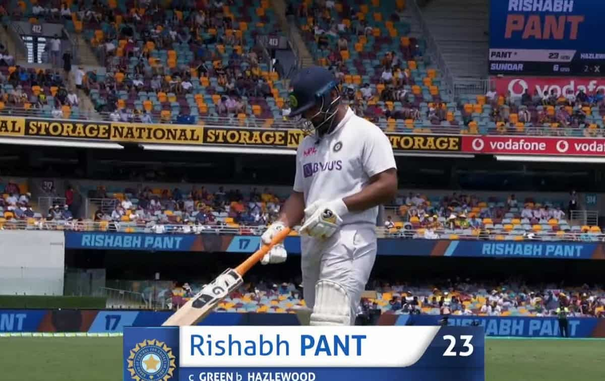 Rishabh Pant becomes the second player from India to be out on 999 Test runs