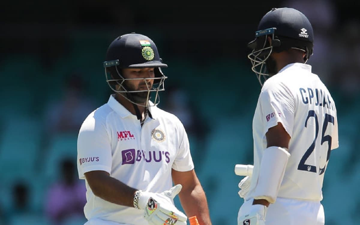Sydney Test India 206/3 at lunch on day five