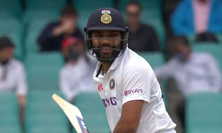 Rohit Sharma first player to smash 100 sixes against australia in international cricket