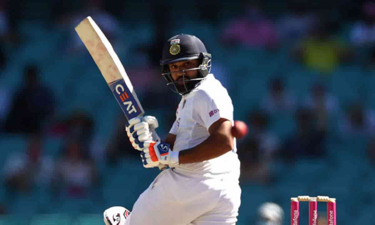 Rohit Sharma becomes first player to hit 50 international sixes in Australia