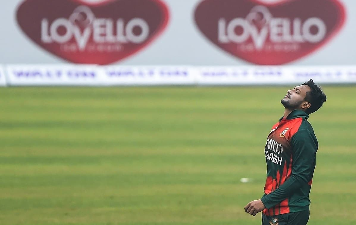 Shakib Al Hasan picks up four wickets in his comeback game against West Indies