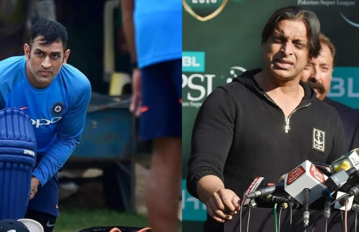 Shoaib Akhtar replied brilliantly after Pakistani fan asks him to describe MS Dhoni in one word