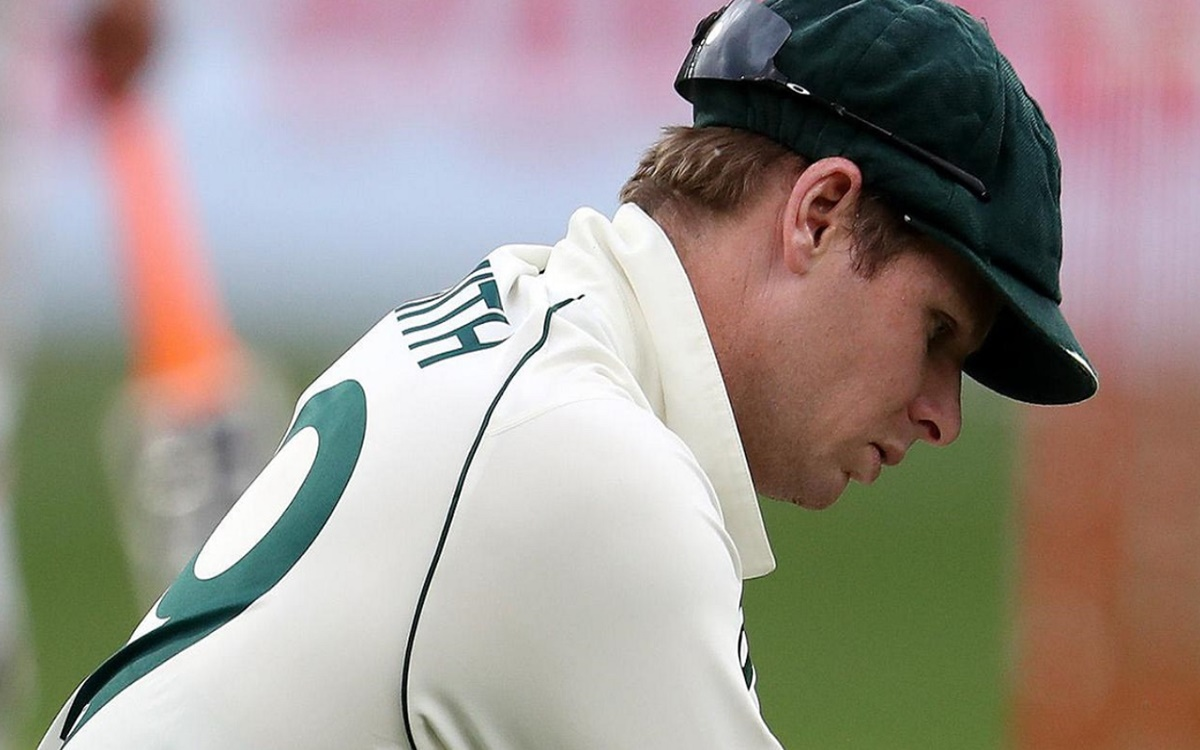 cricket images for Steve Smith was not tampering with Rishabh Pant guard