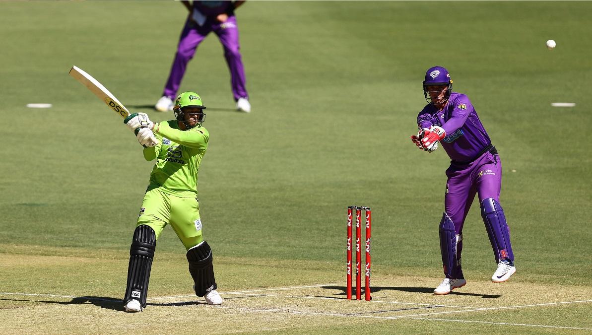 BBL 10: बल्लेबाजों के शानदार प्रदर्शन से सिडनी थंडर ने होबार्ट हरिकेन्स को 39 रनों से हराया