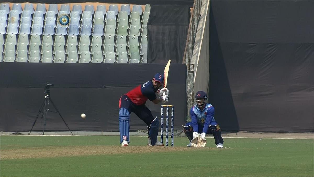 Syed Mushtaq Ali Trophy: Nitish Rana Fires as Delhi set a target of 206 runs against Mumbai