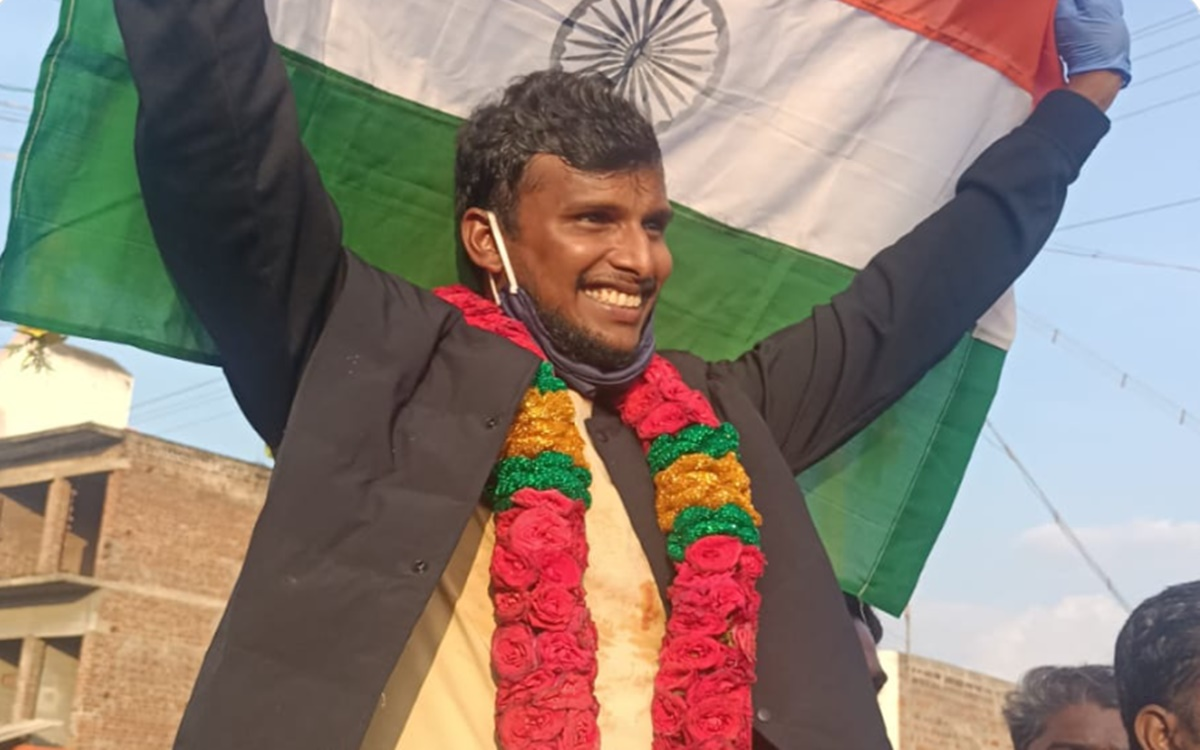 T Natarajan gets royal welcome after historic win over australia