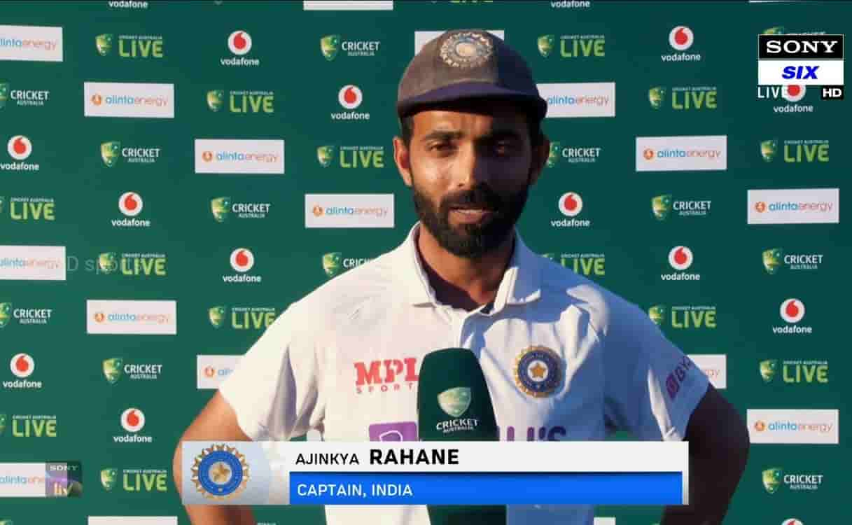 Cricket Image for  Ajinkya Rahane Reaction After Team India Historic Test Series Win Against Austral