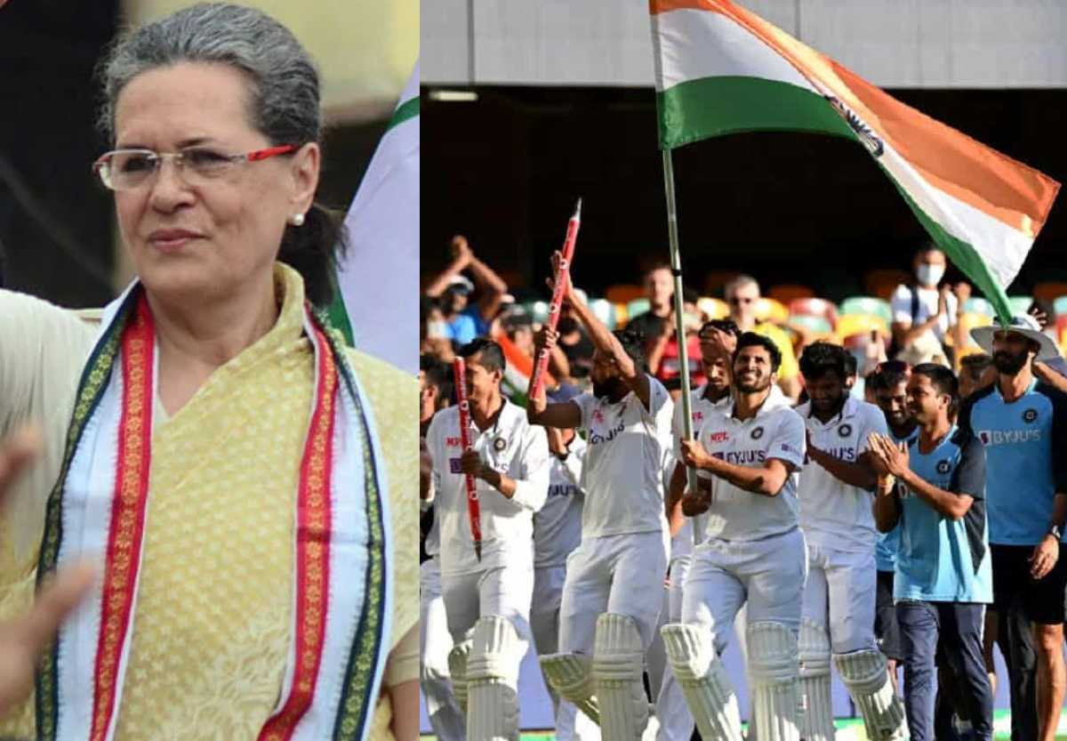 Indian cricket team's performance brought glory to nation says Sonia Gandhi