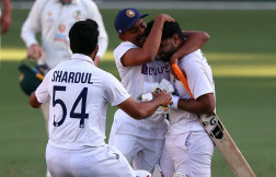 India beat Australia by 5 wickets in Brisbane test to clinch series 2-1