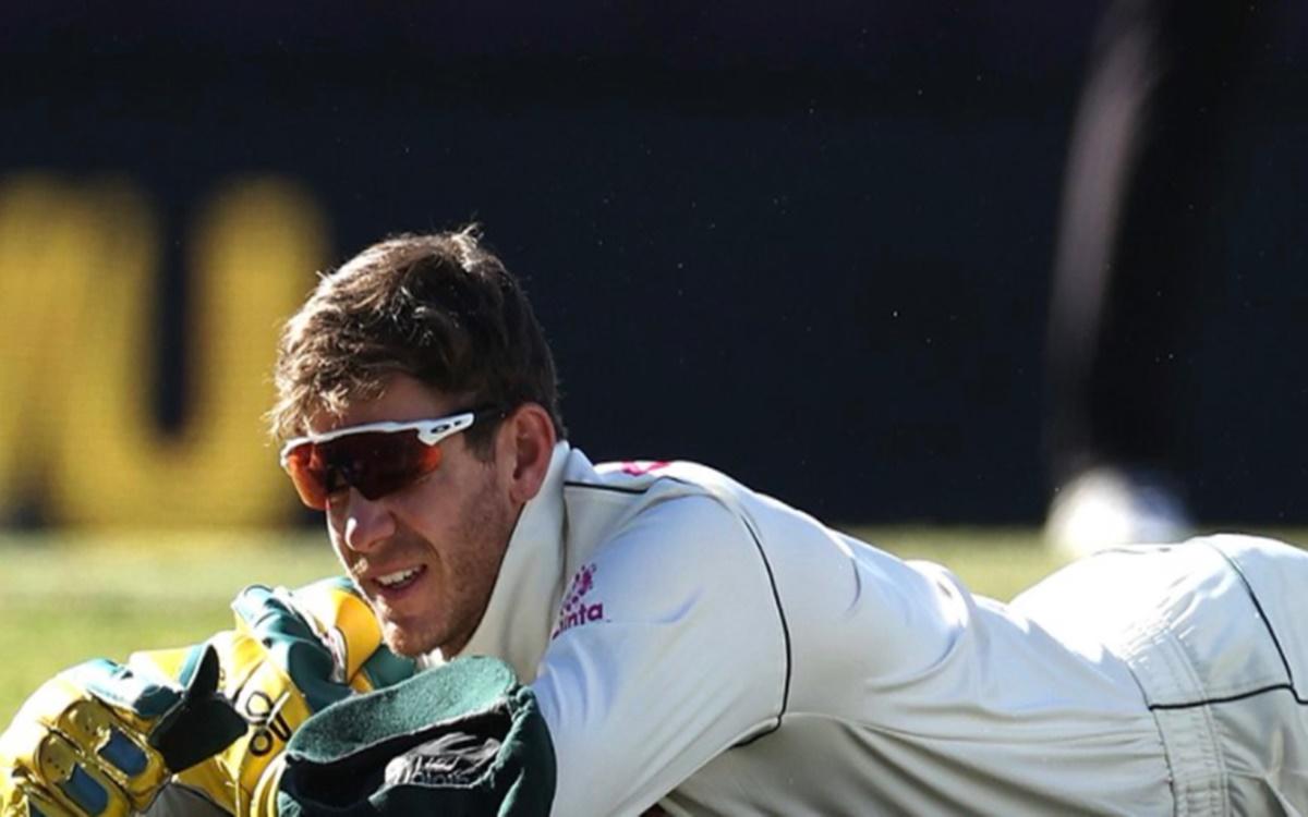 cricket images for Tim Paine dropped Hanuma Vihari catch
