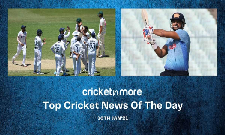 Top Cricket News Of The Day 10th Jan