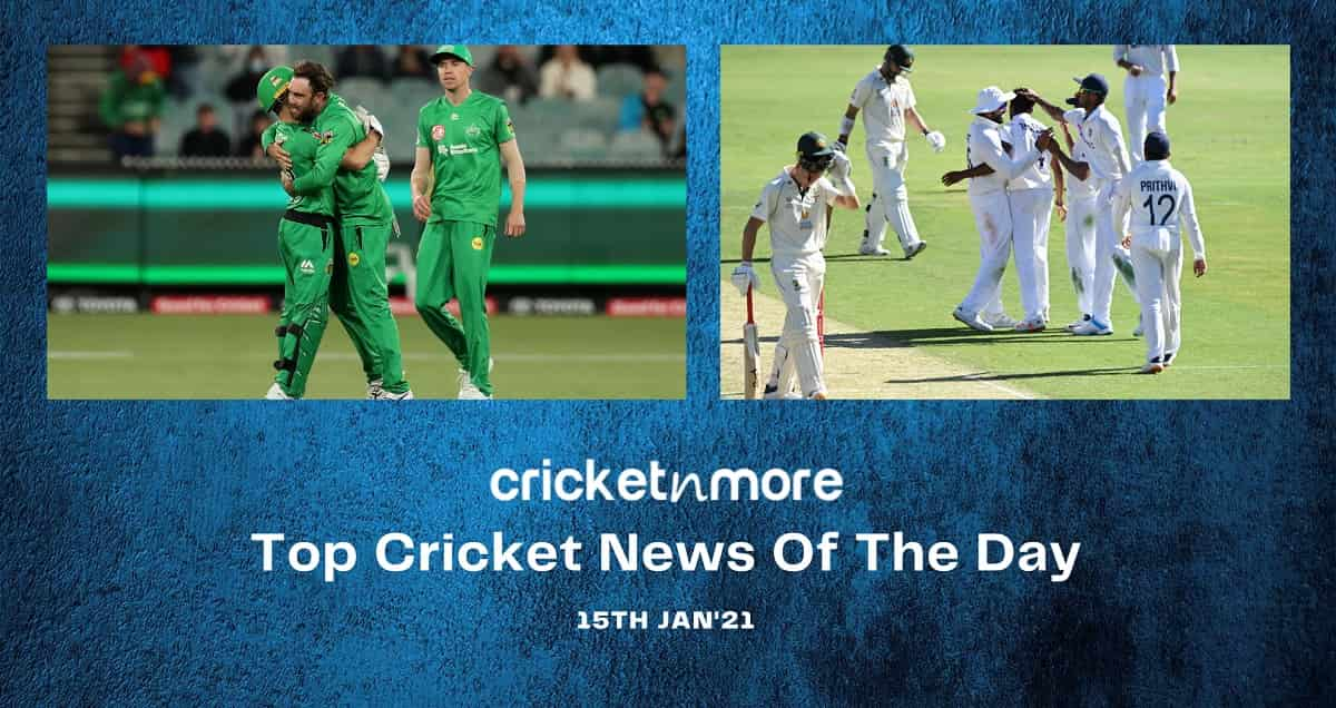 Top Cricket News Of The Day 15th Jan