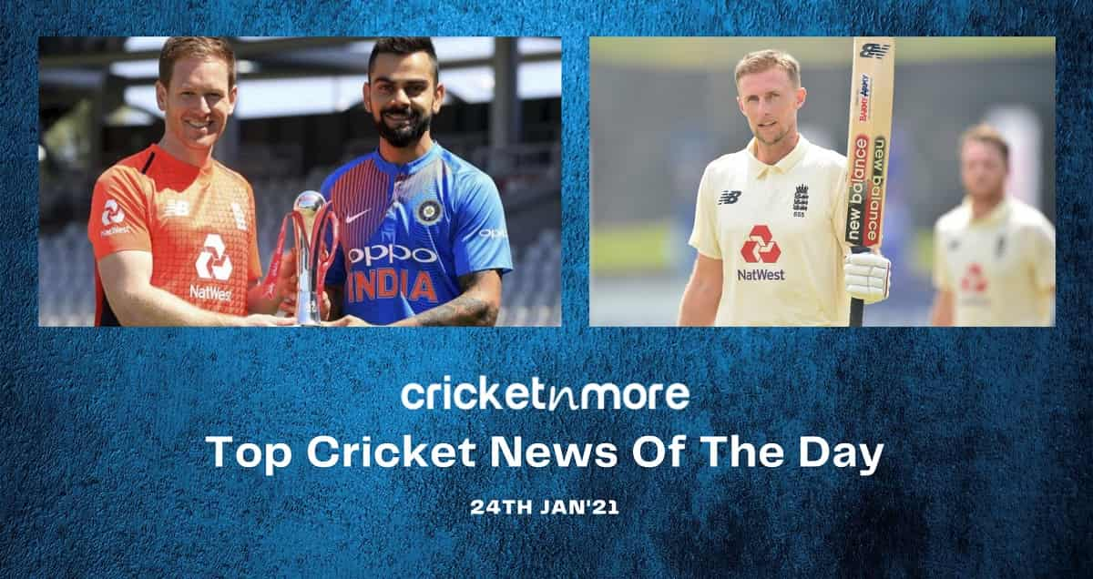 Top Cricket News Of The Day 24th Jan
