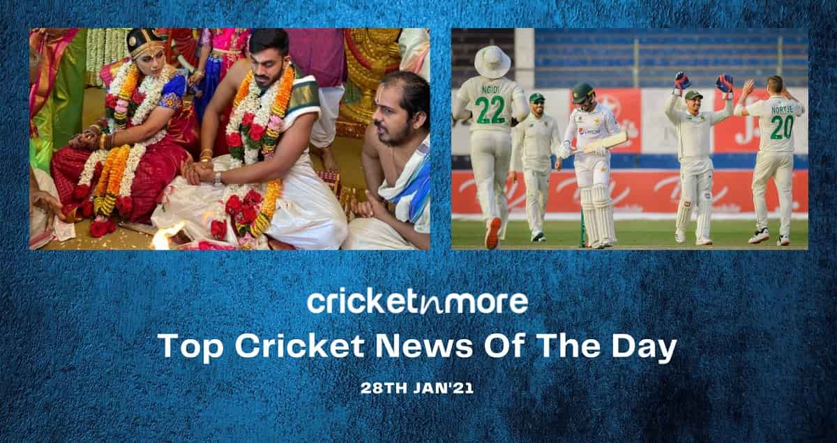 Top Cricket News Of The Day 28th Jan
