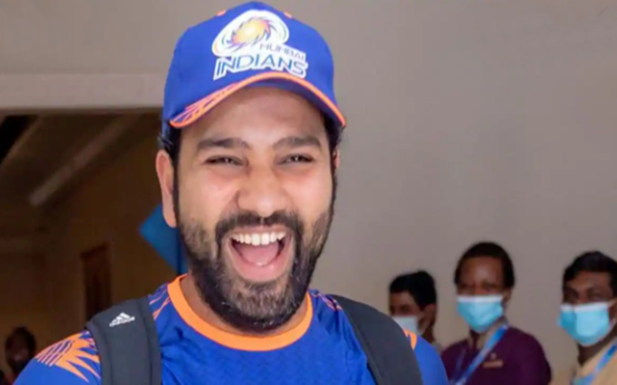 Viral cricket Video indian cricketer Rohit Sharma funny video viral on internet