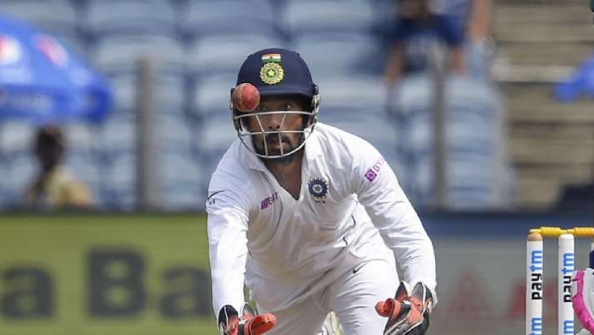 AUS vs IND: Wriddhiman Saha Equals The record of most Catches taken by a substitute in a test innings