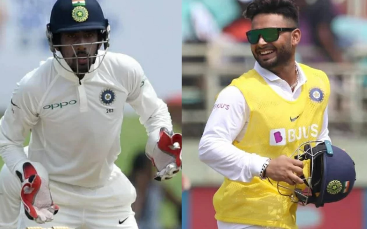 Cricket Image for Wriddhiman Saha Talks About His Relationship With Rishabh Pant
