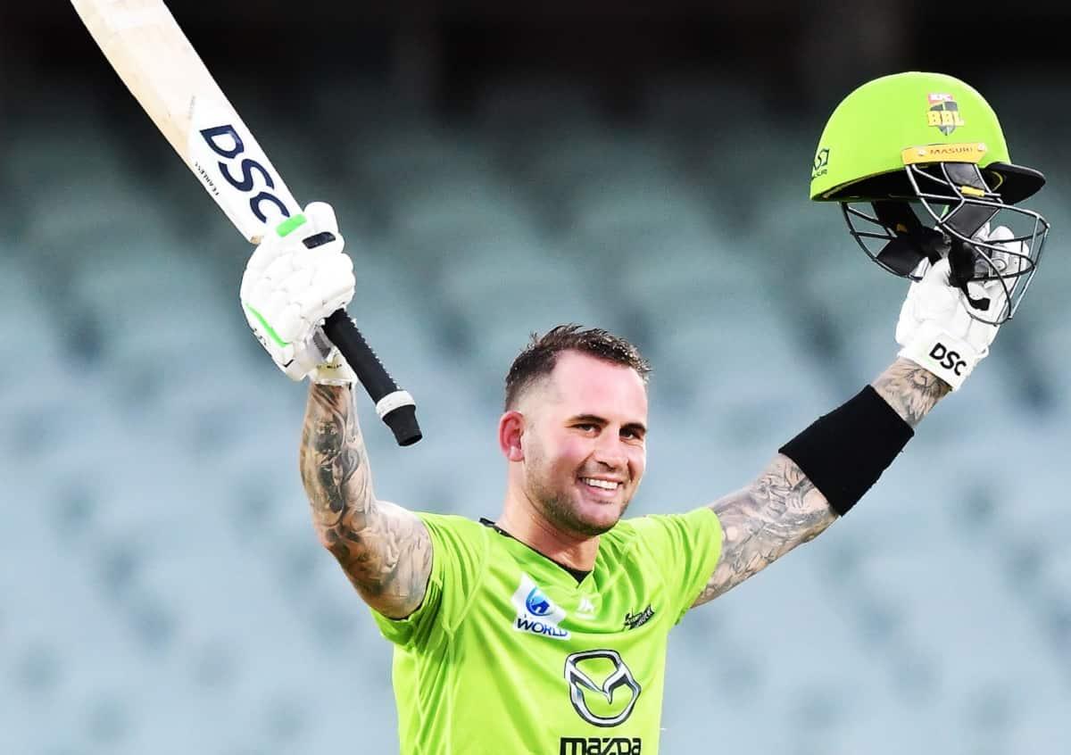 Cricket Image for Alex Hales After BBL Century