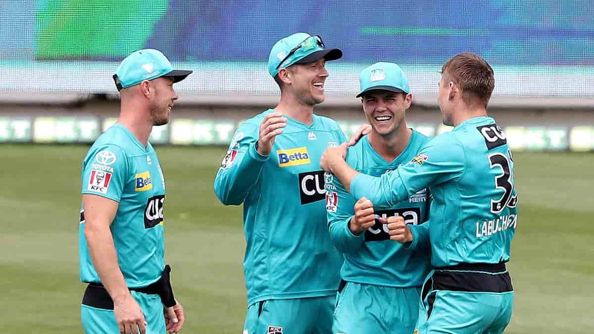 Cricket Image for 'Allrounder' Labuschagne Helps Brisbane Heat Beat Perth Scorchers By 6 Runs