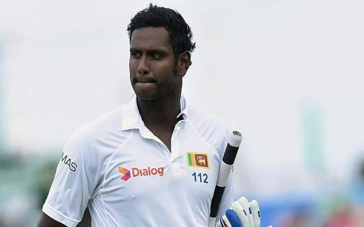 Image of Cricket Angelo Mathews Named In Sri Lanka Squad For England Tests