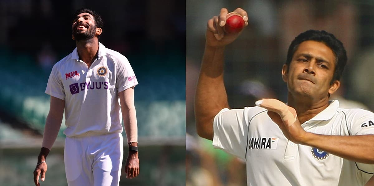 Cricket Image for Anil Kumble Impressed With Bumrah's Imitation Of His Bowling Action