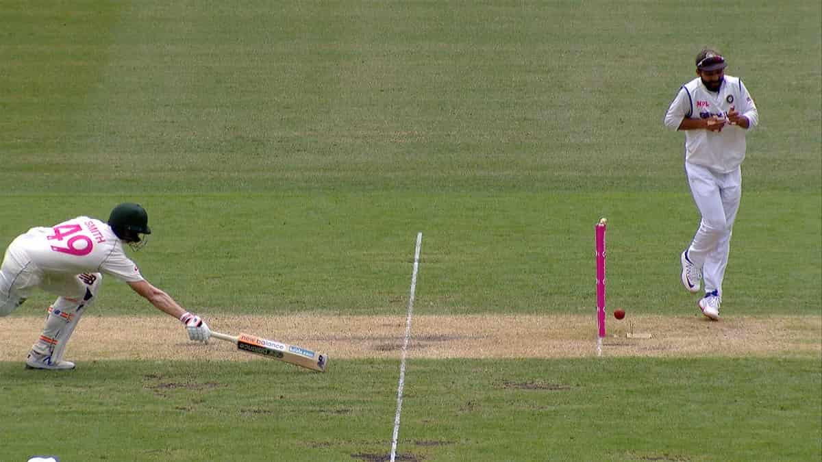 image for cricket steve smith run out
