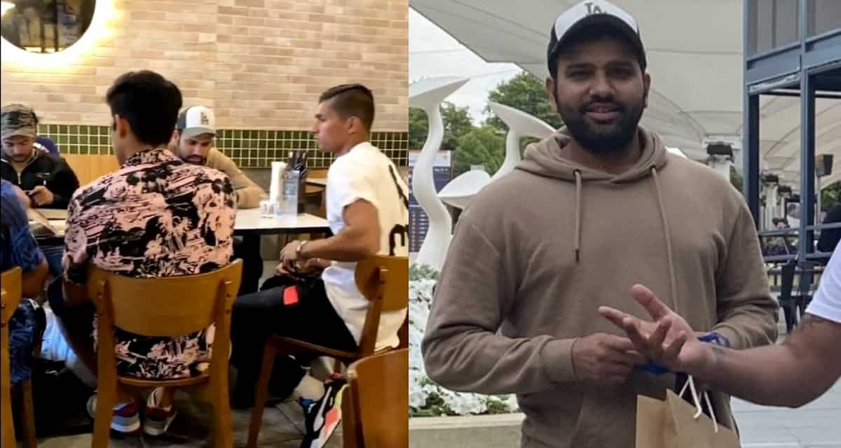 image for cricket indian players in restaurant