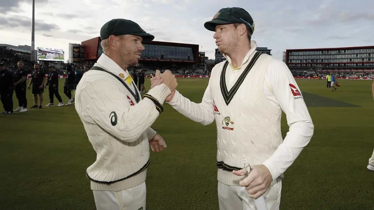 image for cricket david warner and steve smith