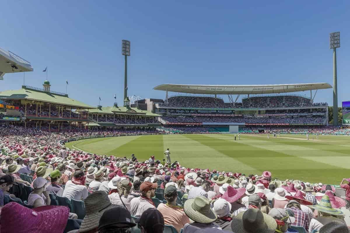 image for cricket sydney cricket ground capacity