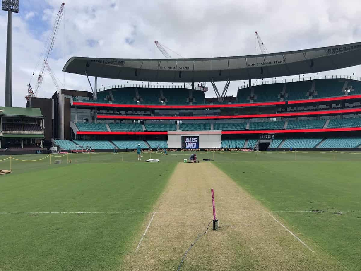 image for cricket sydney cricket ground pitch