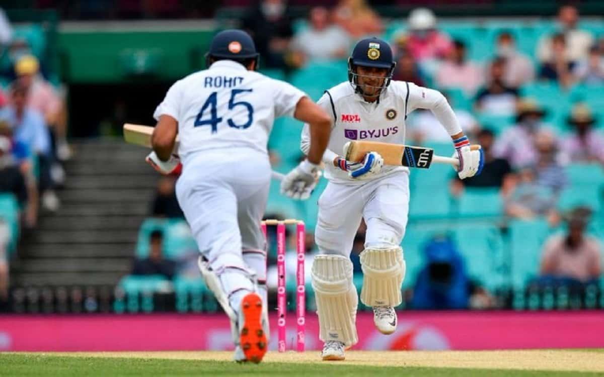 Image of Cricket Indian Opener Rohit Sharma and Shubhman Gill