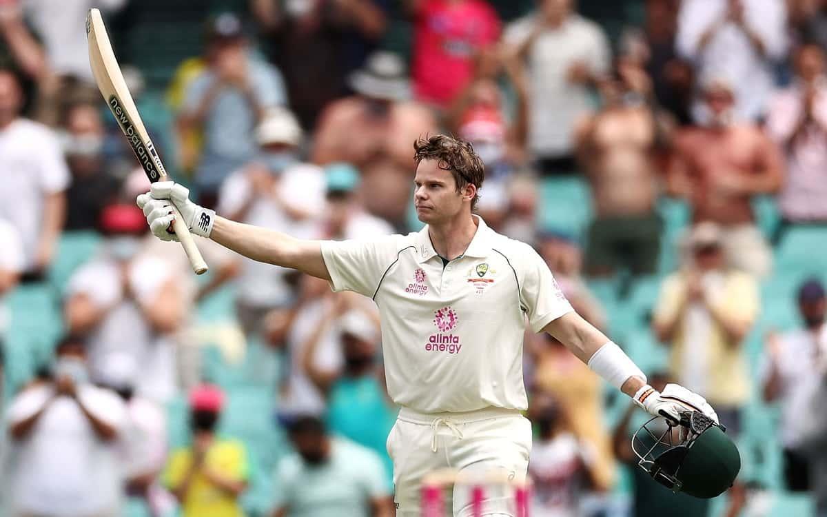 Image of Cricket Australian Batsmen Steve Smith