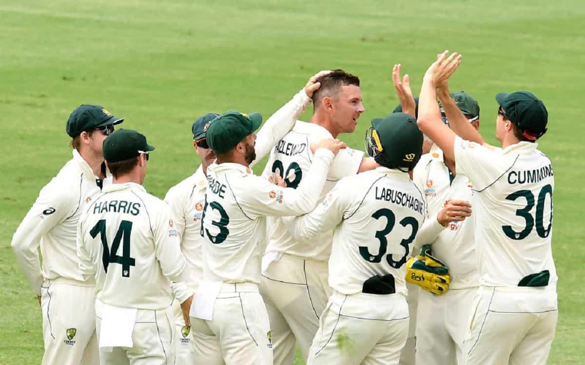 Australia Claim Vital Wicket Of Ajinkya Rahane Just Before Lunch