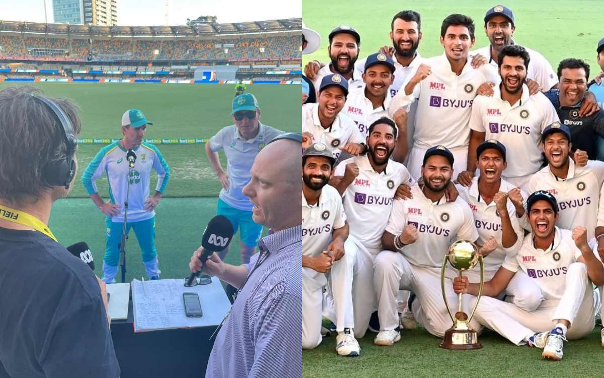 Cricket Image for VIDEO: ऑस्ट्रेलियाई कोच लैंगर ने भी माना 'हिंदुस्तानियों का लोहा', कहा- भारतीयों क