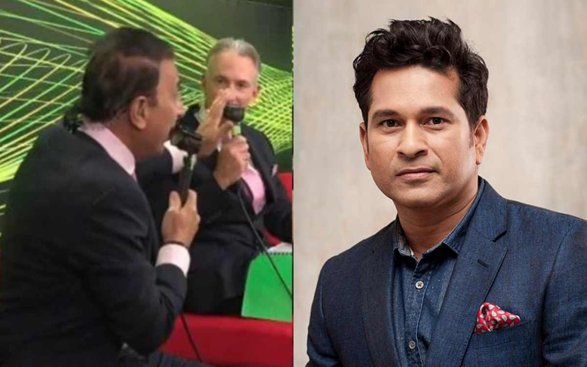 australian commentator made a mistake called sunil gavaskar as sachin tendulkar in sydney test