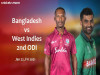 Cricket Image for Bangladesh vs West Indies, 2nd ODI – Fantasy Cricket XI Tips, Prediction & Probabl