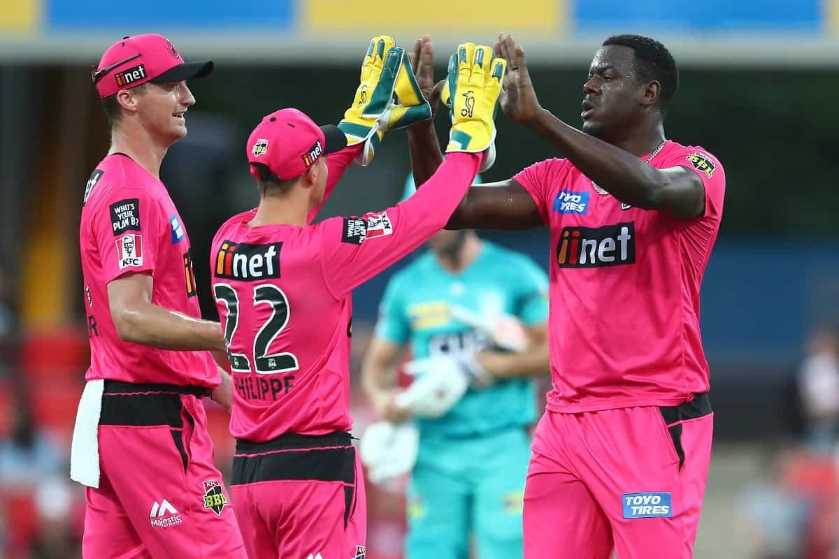 image for cricket sydney sixers vs brisbane heat