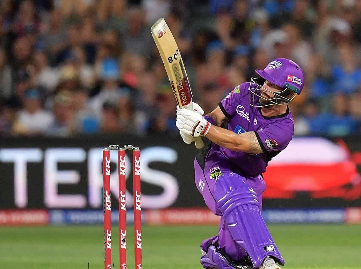 Cricket Image for BBL 10: Wade, Short Take Hobart Hurricanes To 188/8 Against Sydney Sixers