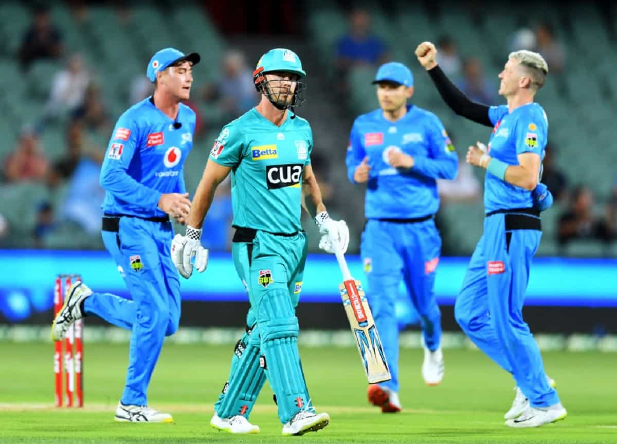 Cricket Image for BBL10: Adelaide Strikers Beats Brisbane Heat By 82 Runs