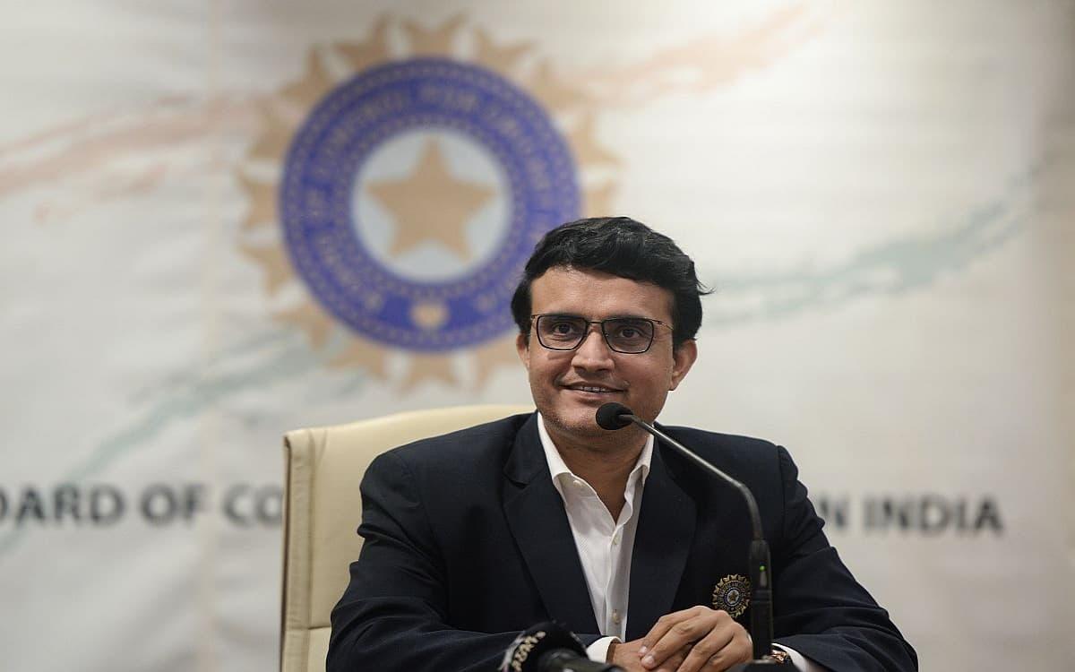 Image of BCCI President Sourav Ganguly