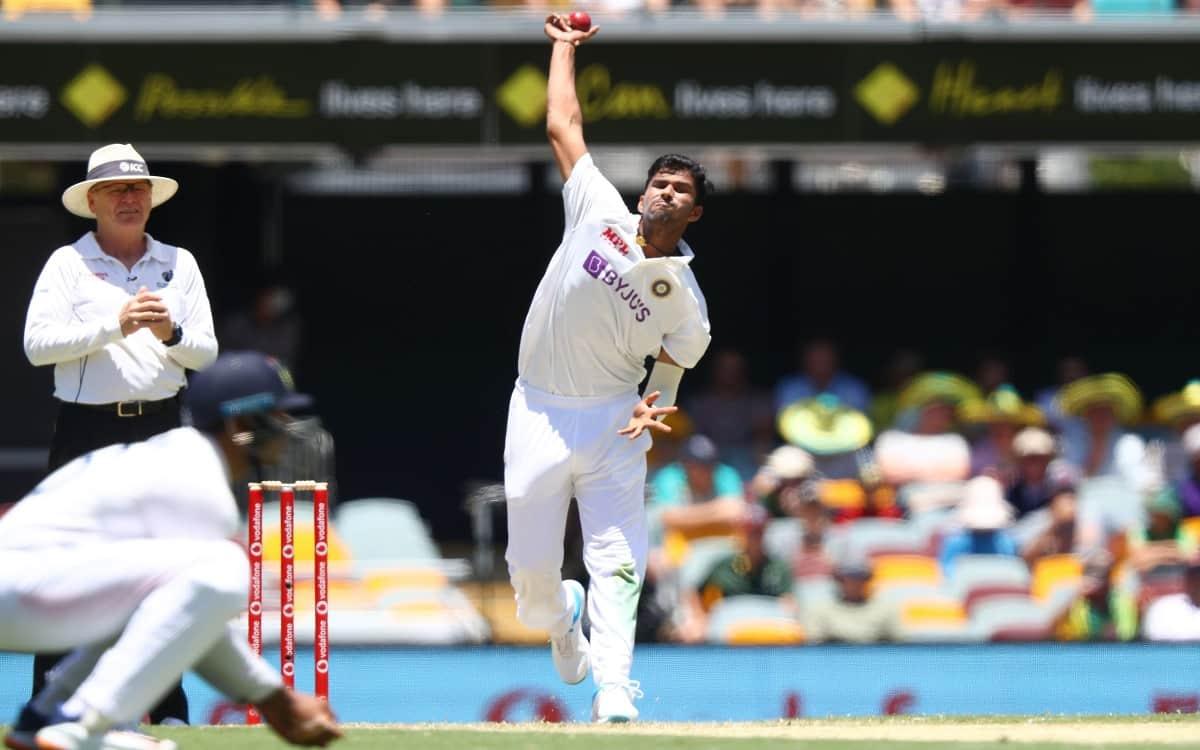 Image of Cricket Washington Sundar Disclose the Secrets of his Impressive Bowling at Gaba Test