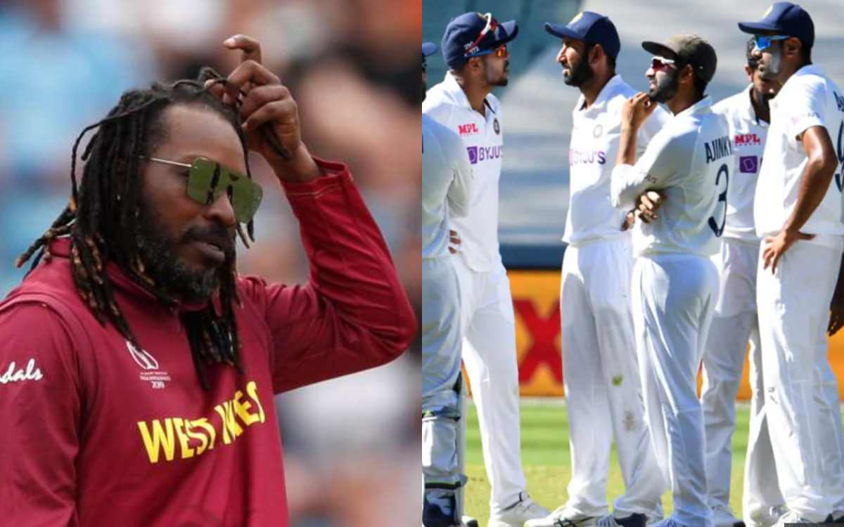 chris gayle feels its advantage india at sydney test against australia