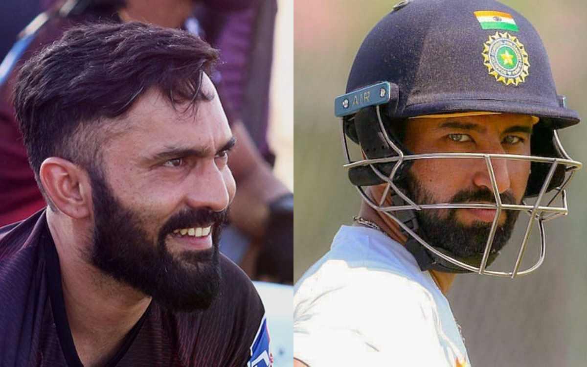 Cricket Image for BIRTHDAY SPECIAL: 'राजकोट की चट्टान को जन्मदिन मुबारक', कार्तिक ने पुजारा को लेकर